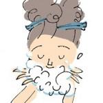 美肌になるための洗顔方法